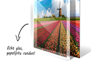 Foto op glas drukken