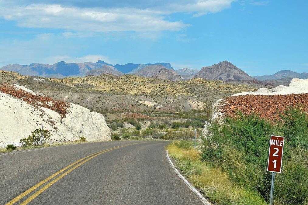 21 miles door de woestijn