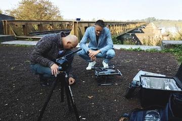Samenwerken voor een videoclip
