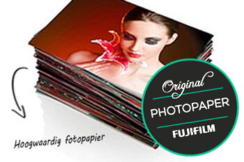 Afdruk op Fujifilm fotopapier in mat, glans of pearl