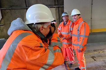 Fotorgafie werkzaamheden Heinenoordtunnel