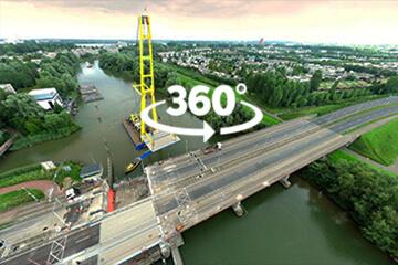 Drone 360 gradenfoto's
