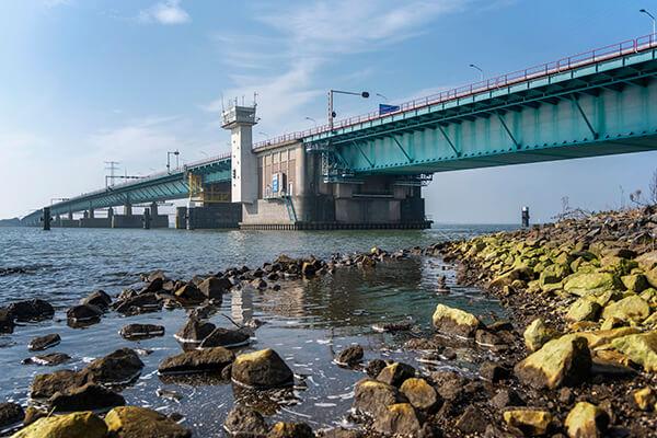 projectfotografie Haringvlietbrug